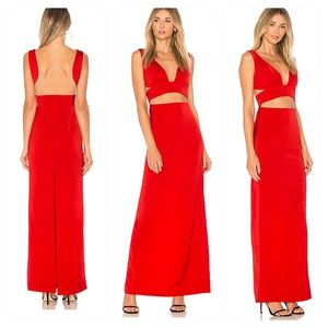 NWT! NBD Timeless Gown in Red